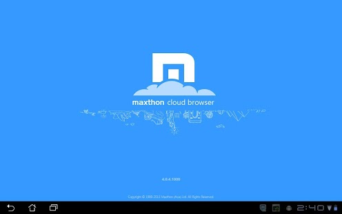 Maxthon Android Web Browser App - 1