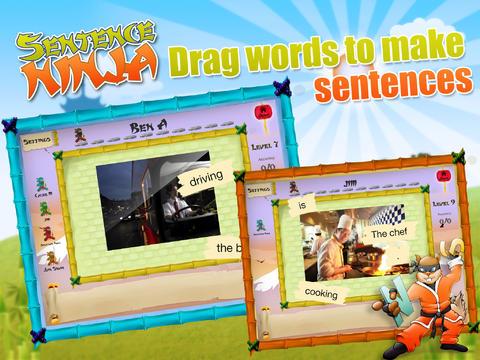 Sentence Ninja App - 2