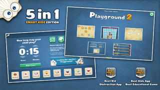 Playground 2 - Smart Kids Edition. 6 logic games for kids aged 4-7 years in 1 App.-1