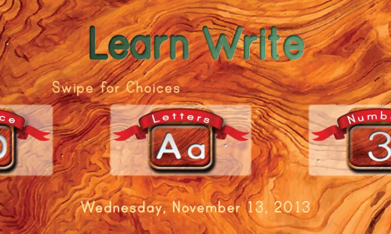 Learn Write App - 2