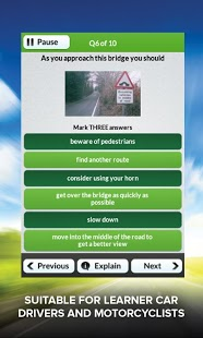 Theory Test UK Free 2013 DTS App - 4