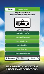 Theory Test UK Free 2013 DTS App - 5