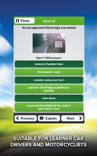 Theory Test UK Free 2013 DTS App - 12