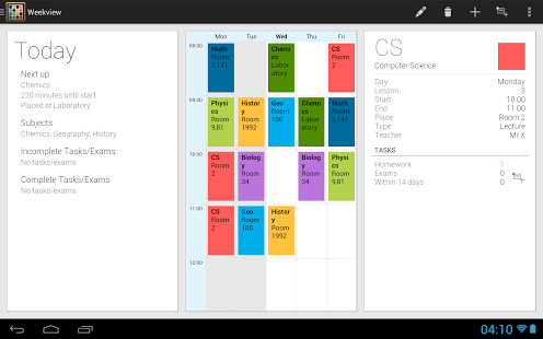Timetable App - 2