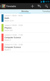 Timetable App - 7