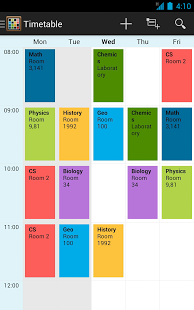 Timetable App - 8