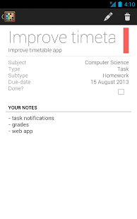 Timetable App - 11