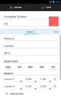 Timetable App - 12