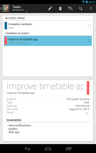 Timetable App - 22
