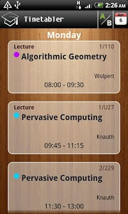 Timetabler Class Schedule-1