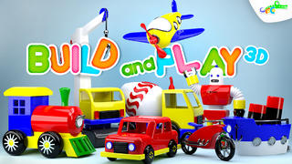 Build and Play 3D -  Planes, Trains, Robots and More-1