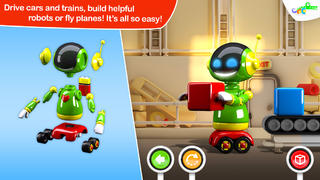 Build and Play 3D -  Planes, Trains, Robots and More App - 2