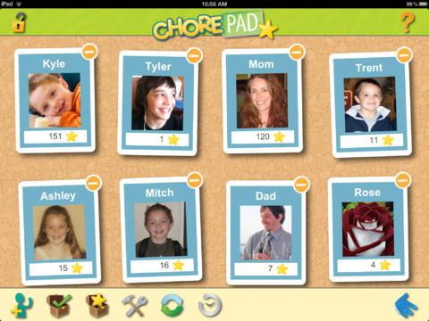 Chore Pad HD App - 1