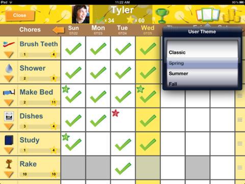 Chore Pad HD App - 3