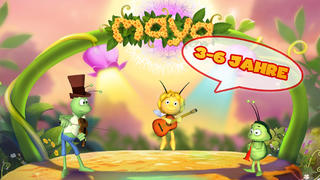 Maya the Bee: Flower Party App - 1