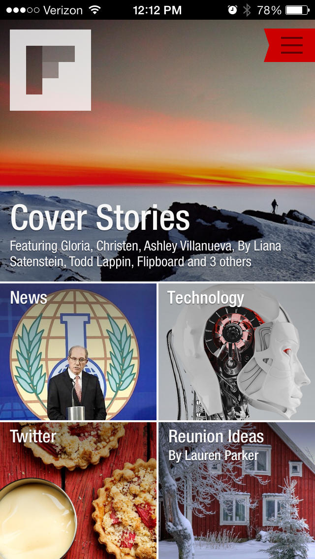Flipboard: Your Social News Magazine App - 1