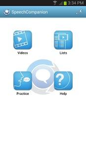 Speech Companion Speech Therapy App - 1