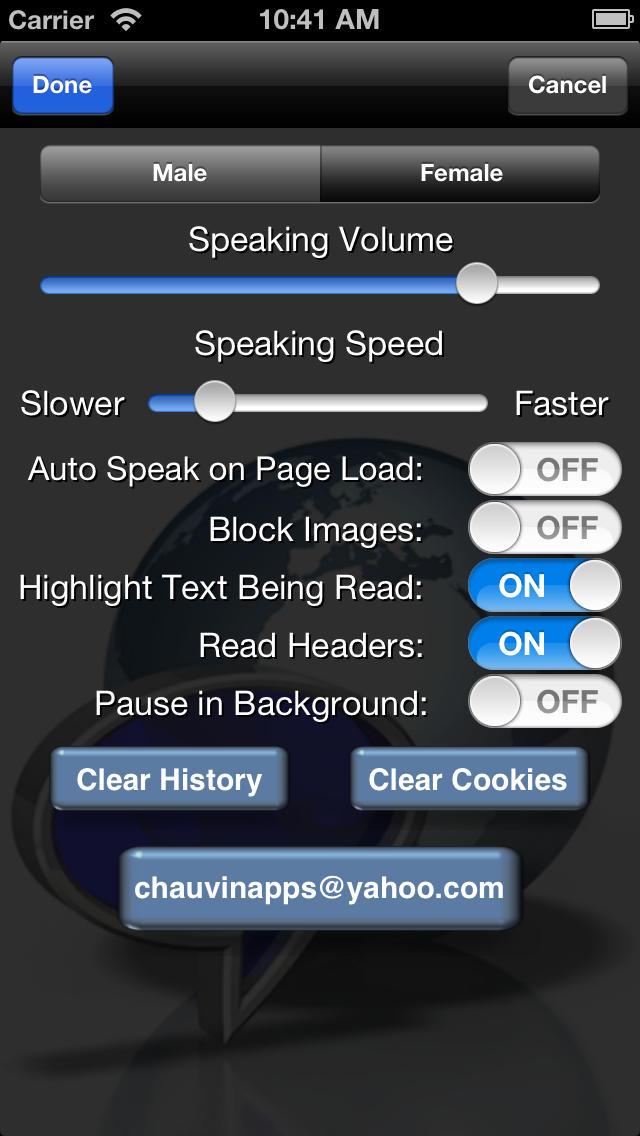 Web Reader - Text to Speech App - 4