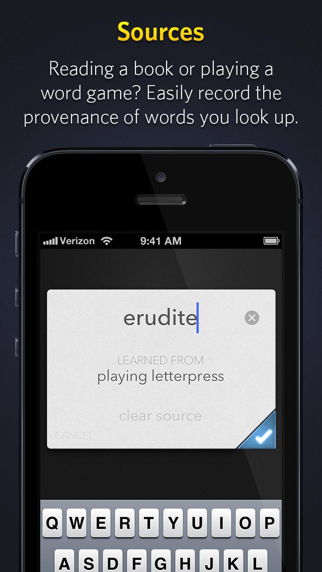 Word Vault App - 3