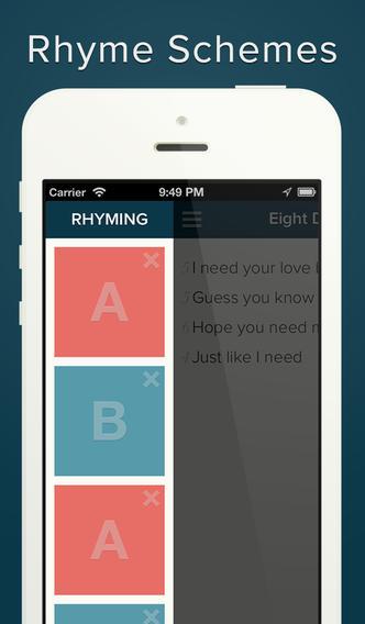 Poetreat - Write quick and simple bites of poetry App - 2