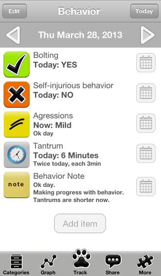 Autism Tracker Pro: Track, analyze and share ASD daily
