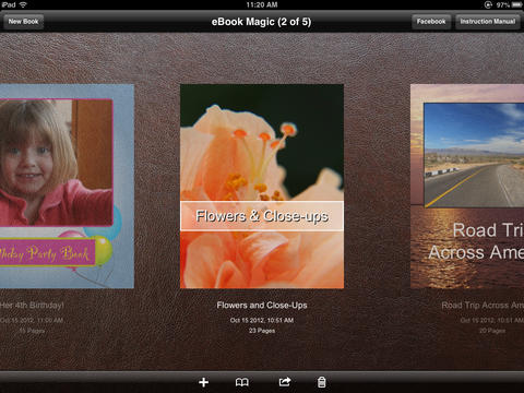 eBook Magic+ ePub, PDF, Photo Book maker & JPG collages-1