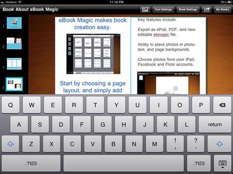 eBook Magic+ ePub, PDF, Photo Book maker & JPG collages-2