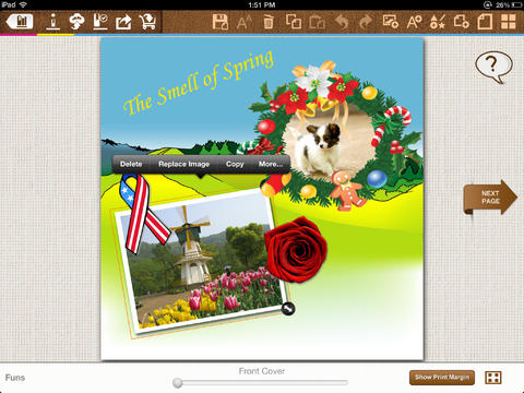 bookPress - Best Book Creator to make your own printable children's book, storybook, family cookbook, photo book, yearbook and class cook for iPad-4