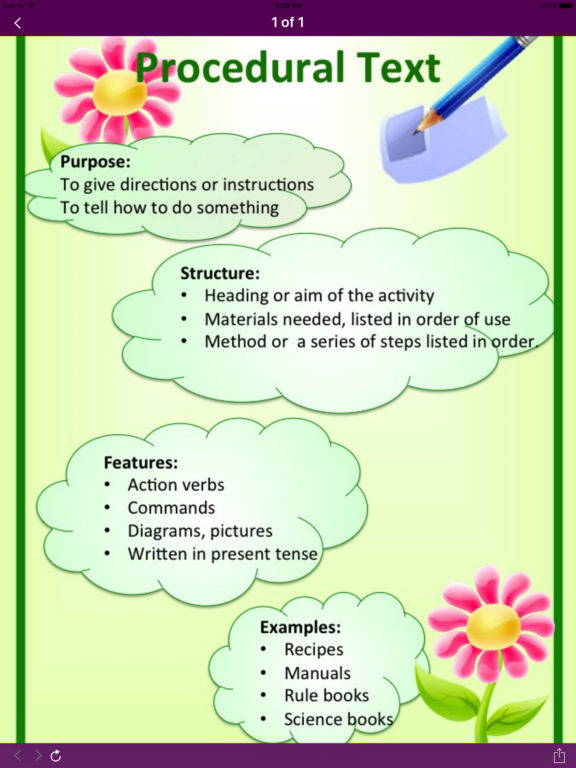 Kids Write Text Types App - 3