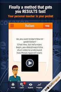 Learn Italian with MosaLingua-3