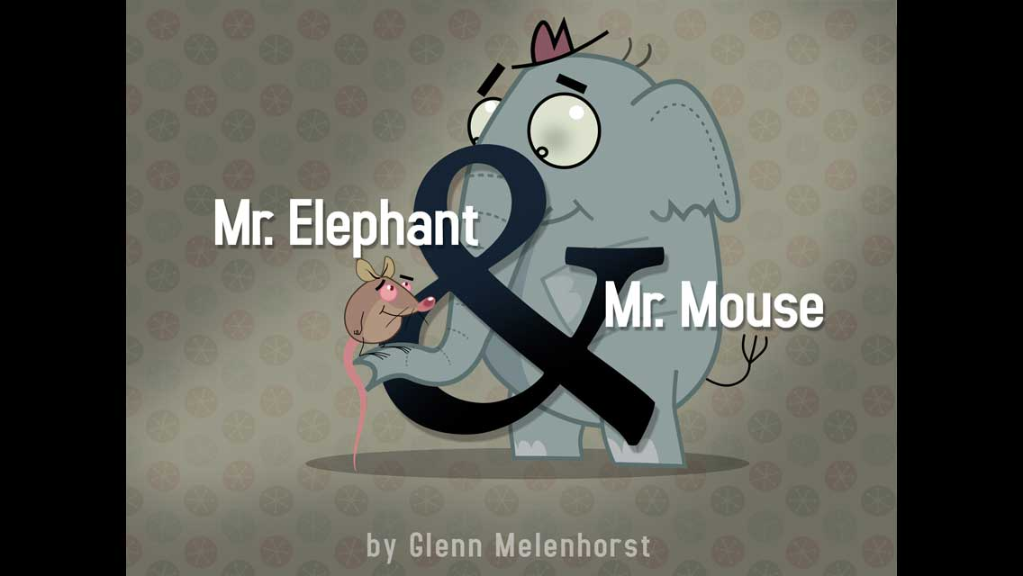 Mr. Elephant & Mr. Mouse App - 1