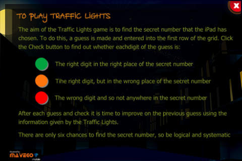 TRAFFIC LIGHTS App - 5