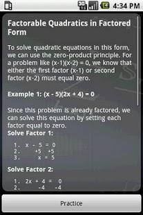 Algebra Tutor App - 3