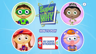 SUPER WHY! App - 1