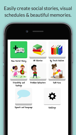 Social Stories Creator and Library for Preschool, Autism and Special Needs App - 5