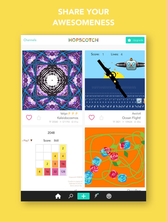 Hopscotch: Coding for kids, a visual programming language App - 4