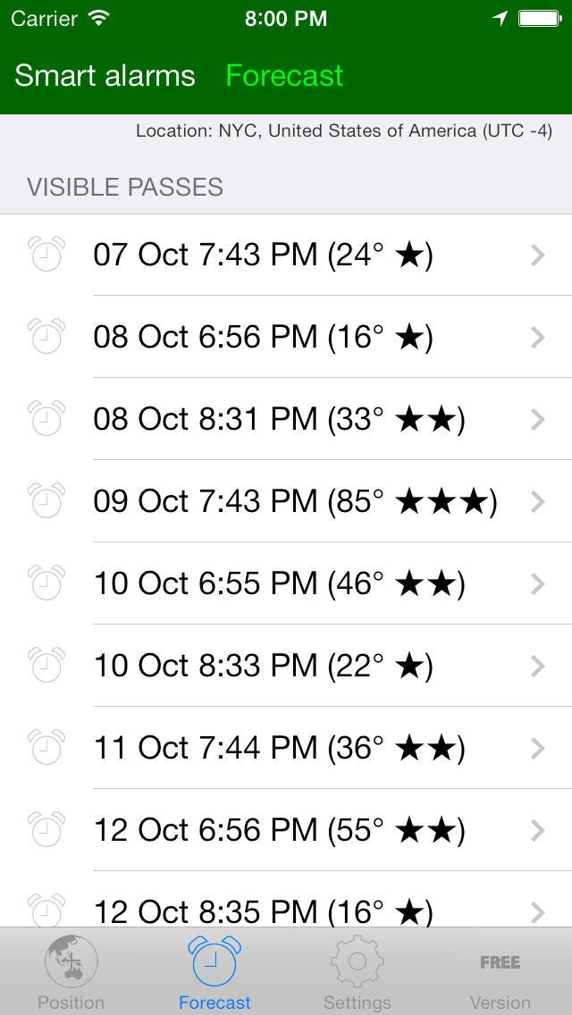 ISS Spotter App - 2