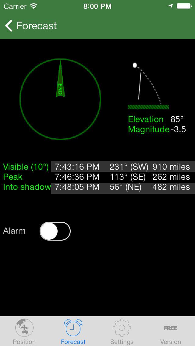 ISS Spotter App - 3