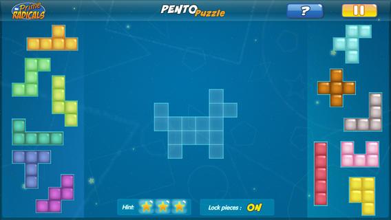 Prime Radicals: Pentominoes-2