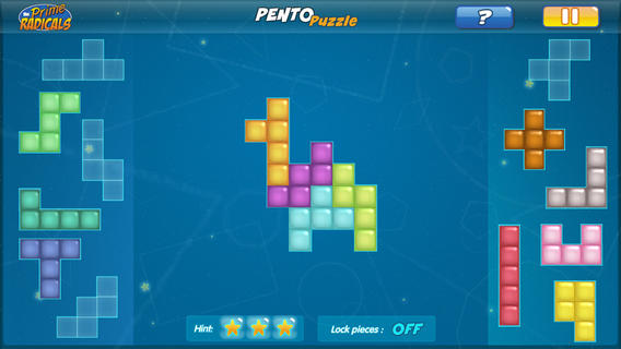 Prime Radicals: Pentominoes-3