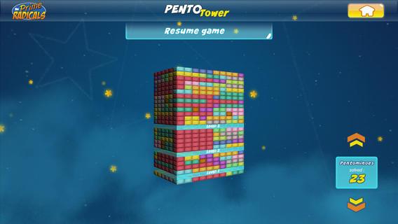 Prime Radicals: Pentominoes-5