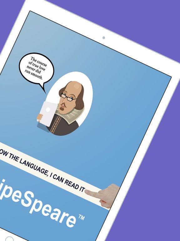 Shakespeare SwipeSpeare App - 2
