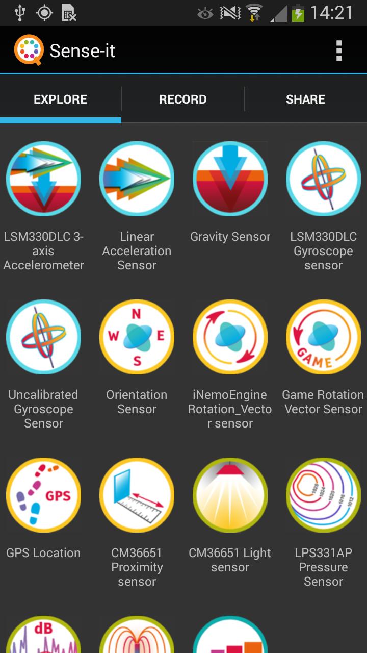 Sense-it App - 1