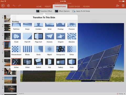 Microsoft PowerPoint for iPad-3