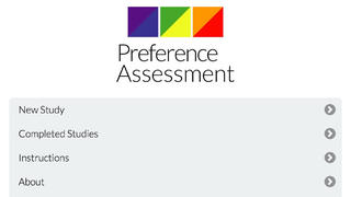 Preference & Reinforcer Assessment App - 3