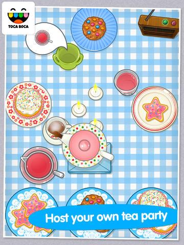 Toca Tea Party App - 1
