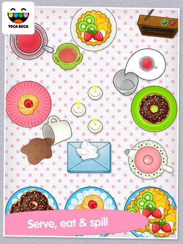Toca Tea Party App - 3