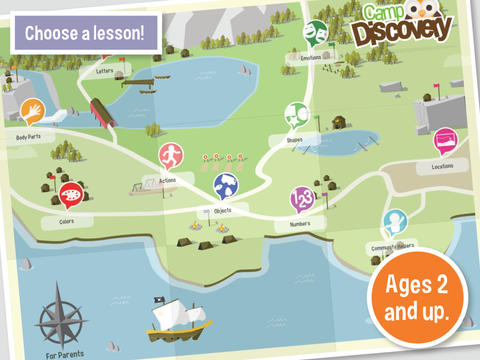 Autism Learning Games: Camp Discovery-1