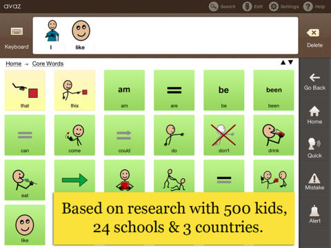 Avaz - AAC App for Autism (Augmentative Picture Communication Software for Children with Special Needs)-3