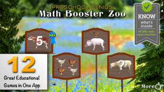 Preschool Genius Math Booster Zoo Complete-1